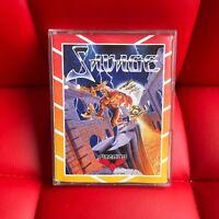 Sinclair ZX Spectrum 48K Game -  SAVAGE  - Firebird - # VERY RARE #