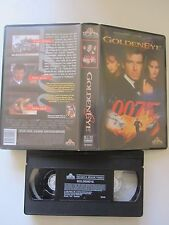 James Bond: Goldeneye de Martin Campbell avec Pierce Brosnan, VHS, Action