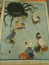 Toile d'araignée A Marcelin Albert Vignes de France Print 1907