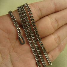 Titanio Puro Anti-Alergia Collar Cadenilla De Titanio De 3.5 mm 55 cm 60 cm 70 Cm
