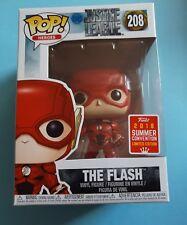 Funko pop The Flash Running Translucent 208 SDCC 2018