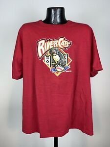 Men's Vintage Russell Athletic MILB Sacramento Rivercats Cotton Short-Sleeve Tee