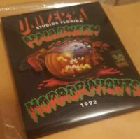 New Universal Studios Orlando Halloween Horror Nights 30th 1992 Pumpkin Magnet
