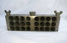 Antique Victorian Apothecary Pharmacy Maker Suppository Mould XL