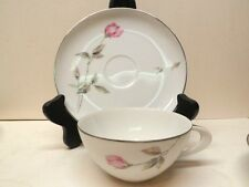Mint Style House Dawn Rose pattern Cup and Saucer