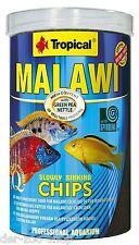 Cichlidenfutter TROPICAL Malawi CHIPS 1000 ml 1 L - 24 Std. Versandservice