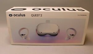 OCULUS QUEST 2 64GB VR VIRTUAL REALITY HEADSET - WHITE - MODEL KW49CM JD96CX
