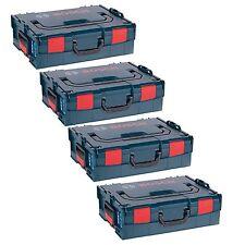 4 Stück Bosch Maschinenkoffer L-Boxx 4er Pack Gr. 2 - Sortimo 136 LBoxx Größe 2