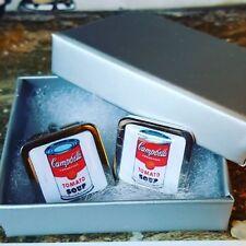 Unico! iconica Campbell's Zuppa di pomodoro Gemelli CROMO POP ART ANDY WARHOL Retro