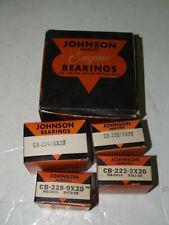 NOS Johnson Bronze Engine Rod Bearing set for Chevrolet 1940-1952 .020
