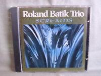 Roland Batik Trio- Streams- WEA 1993- Made in Germany- RAR WIE NEU