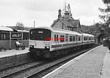 PHOTO  CLASS 150 150 143 AT ARLEY RAILWAY STATION 10-05-87