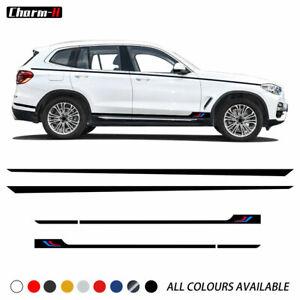 M Performance Sport Door Side Stripe Skirt Waist Line Sticke for BMW X3 G01