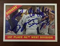 ADRIAN GONZALEZ ? 2015 TOPPS HERITAGE AUTOGRAPHED SIGNED AUTO BASEBALL CARD 238
