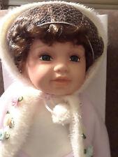 """Duck House  Doll """"Tara"""" Baby Porcelain 1392/5000 Heirloom Doll 21"""""""
