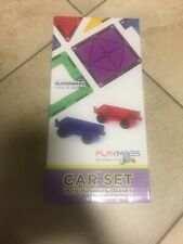 Playmags 2 Piece Car Set: Now with Stronger Magnets, Sturdy, Super Durable wi.