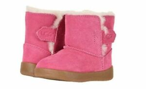 NEW TODDLER INFANT BABY UGG BOOT KEELAN PINK AZALEA ORIGINAL 1096089I