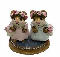 "Wee Forest Folk: ""The Flowers Girls"" Cinderella, Collectible, 1988, C-4"