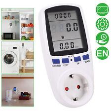 Energiemonitor Stromverbrauch Leistungsmesser Wattmeter Stromzähler Steckdose EU