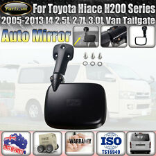 Rear Tailgate Door Mirror Assembly for Toyota Hiace H200 Series Van 2005-2013