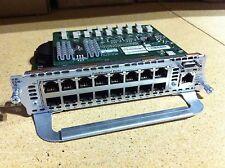 Cisco NM-16ESW-PWR-1GIG  Module  NM-ESW-16 Ready to ship , 1 year WRNTY
