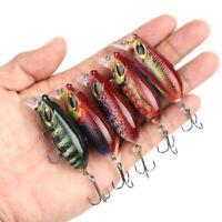 2pcs Crankbait Fishing Lures Artificial Crank Hard Bait Minnow Fishing Wobblers