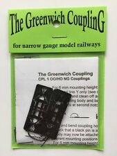 Greenwich couplings (10) CPL1 for fx OO9 H0e