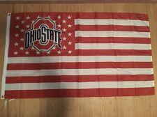 Ohio State Buckeyes Large NCAA 3 x 5 Banner Flag College Merchandise US SHIPPER