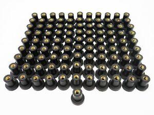 100x Blindnietmutter Well-Nut Rubber Nut M6 well nut Flexinut M6x21.1