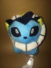 Pokemon Plush Teddy - Vaporeon Soft Toy - Size: 12cm - NEW & Tagged