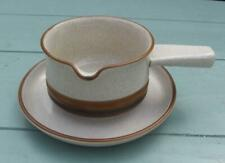 More details for denby potters wheel gravy boat & stand    £14.99 (post free uk )