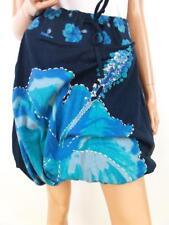 DESIGUAL size M Balloon skirt ballon pearl navy blue