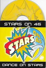 STARS ON 45 - Dance on stars CD SINGLE 2TR DUTCH CARDSLEEVE 1998