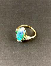 Goldring 18 Karat/ 750 Gold mit Opal