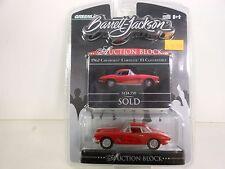 Green Light Barrett-Jackson 1962 Chevrolet Corvette F1  (Die-cast-1:64 Scale)