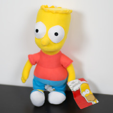 The Simpsons Bart Plush Doll Toy Factory With Tags