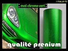 film vinyle covering mat chrome vert 1.52 x 2 m thermoformable adhésif