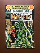 HOUSE OF MYSTERY #204 (7/72) BERNI WRIGHTSON ART DC HORROR GEM F+