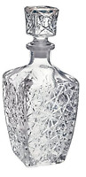 Vintage Whiskey Decanter Crystal Glass Liquor Bottle Wine Stopper Scotch Bar New