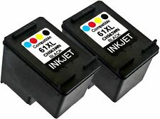 2PK For HP 61XL HP61XL CH563WN Black New Gen Deskjet 1000 1010 1015 1050 1051