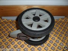 Chicco cortina stroller wheel (front double wheel) SIZE 6 7/8. Brown