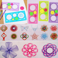 Drawing Arts Drafting Stencil Spiral Tools Stationery Geometric Spirograph Ruler