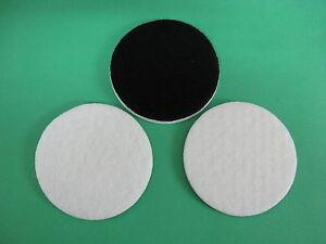 """75mm Polishing Pad,  Felt Polishing Pad, GLASS POLISHING ~ 3"""" PAD~3 FELT PADS"""