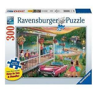 Ravensburger Summer at the Lake 300 pieces Large Format