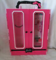 Barbie Pink & Black Storage Case With Bow Handle