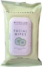 Limpiador Micellar Facial Makeup Remover Toallitas w Agua de Pepino