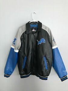 G-III Detroit Lions Full-Zip Jacket Size L