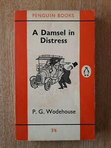 P G Wodehouse A DAMSEL IN DISTRESS, FIRST Edition Penguin 1961, VG Cond, Vintage