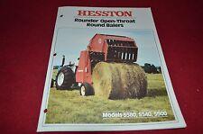 Hesston 5500 5540 5580 Round Baler Dealer's Brochure DCPA2