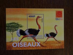 Guinea 2001 Mi# BL 656, MNH, Birds